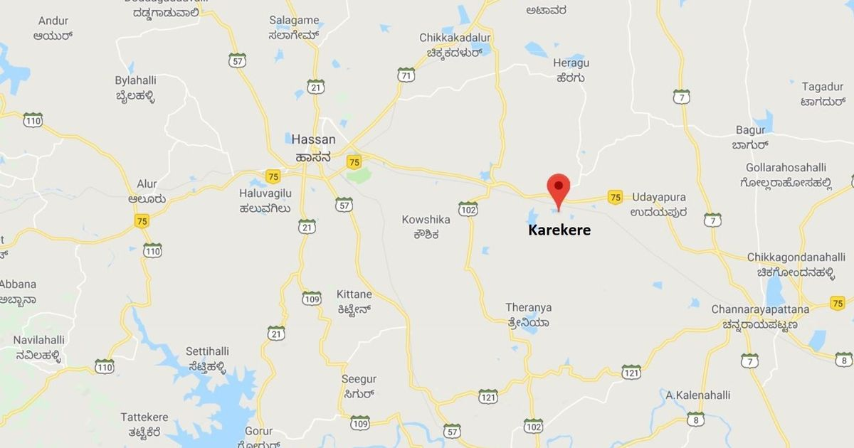 Karnataka: Eight die after state transport corporation bus falls into pond in Hassan district