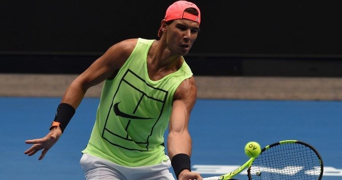 Short of match practice, Rafael Nadal hopes to be ready for Australian Open