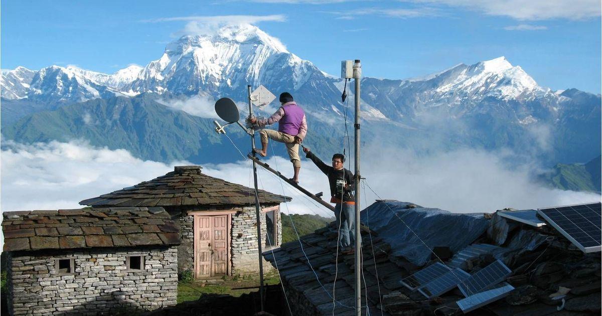 चीन से मदद मिलने के बाद अब नेपाल में भारत का इंटरनेट एकाधिकार खत्म