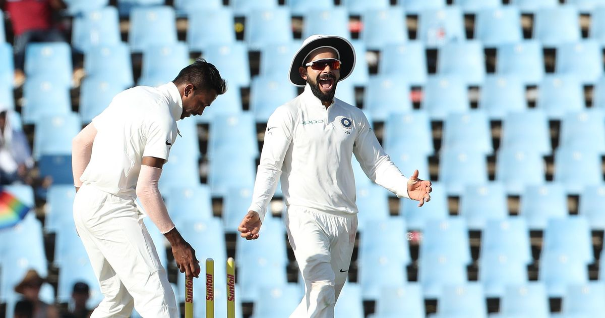 India v South Africa, 2nd Test, day one, live scores and