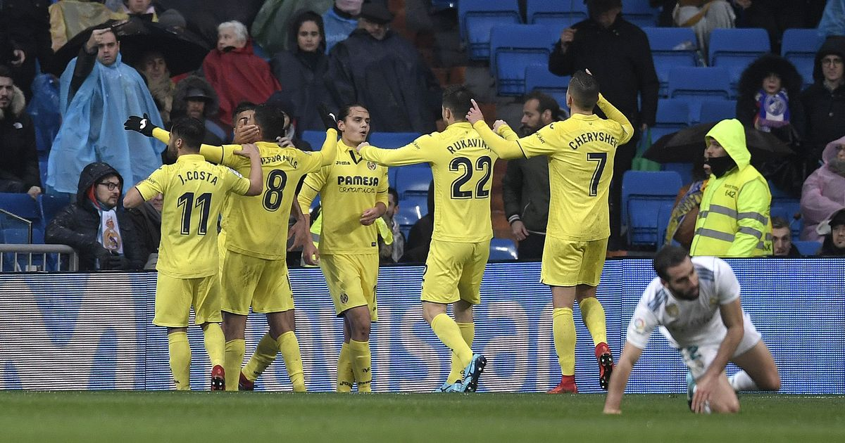 Struggling Real Madrid fall further behind as Villarreal snatch first win at Bernabeu