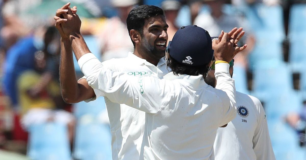 I like to think I've kept us in the game: Ashwin on his 3/90 on Day 1 of Centurion Test