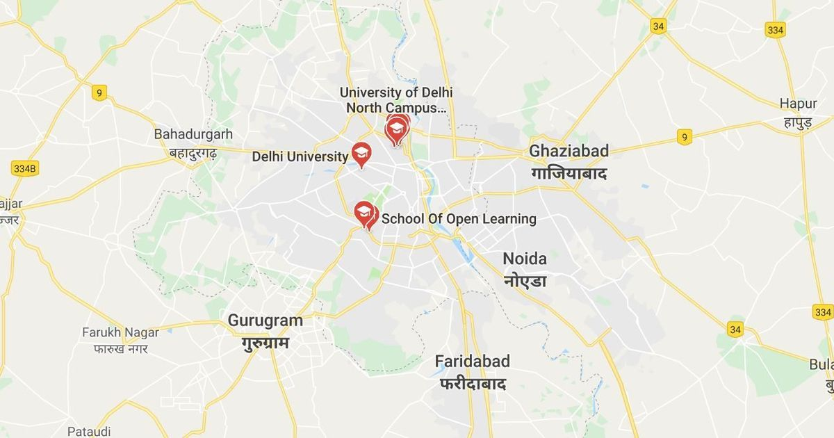 DU student crushes man with his BMW vehicle at North Campus