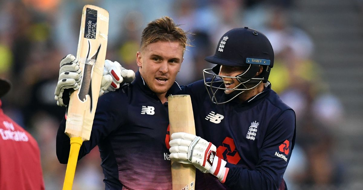 Record-breaking Jason Roy powers England to opening win against Australia