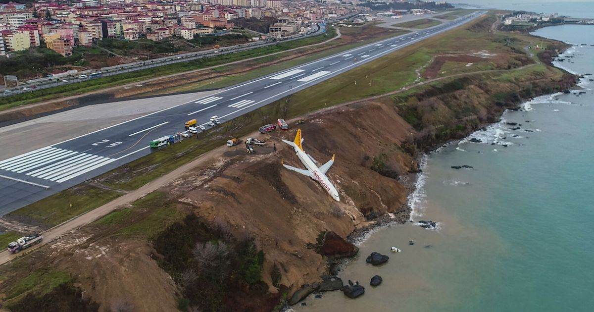 Turkey: Aircraft with 168 on board nearly falls into the Black Sea