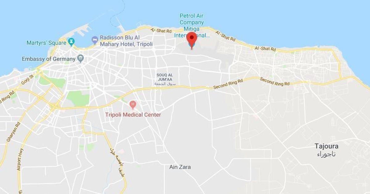 Libya nine dead tripoli airport shut as militias clash libya nine dead in clashes between militias near tripoli airport google maps publicscrutiny Images