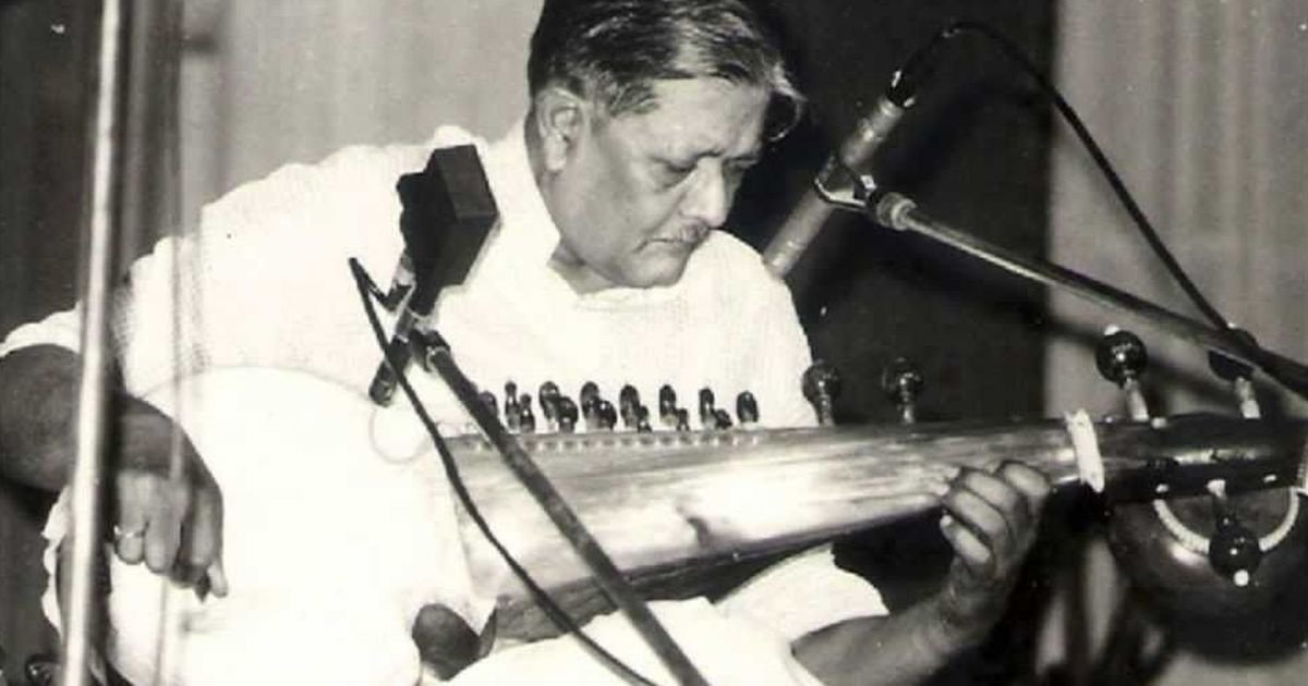Buddhadev Dasgupta (1933-2018): A 'renegade pupil' explains why the sarod master was a true pioneer