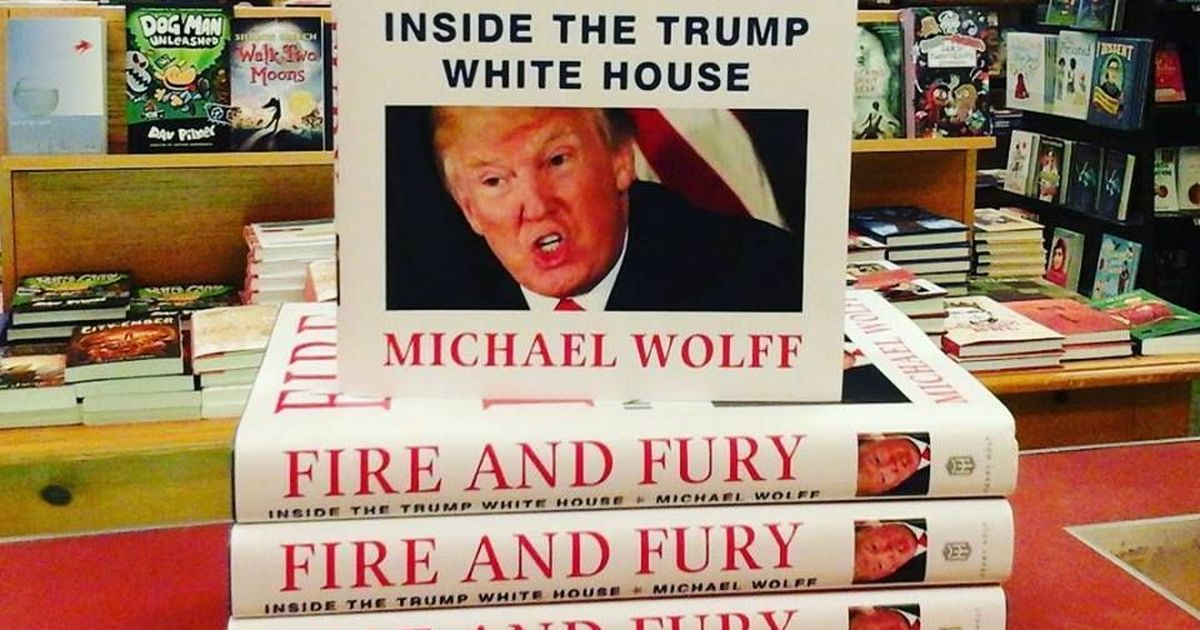 Fire and fury on the small screen: Michael Wolff's explosive book on Trump inks TV series deal