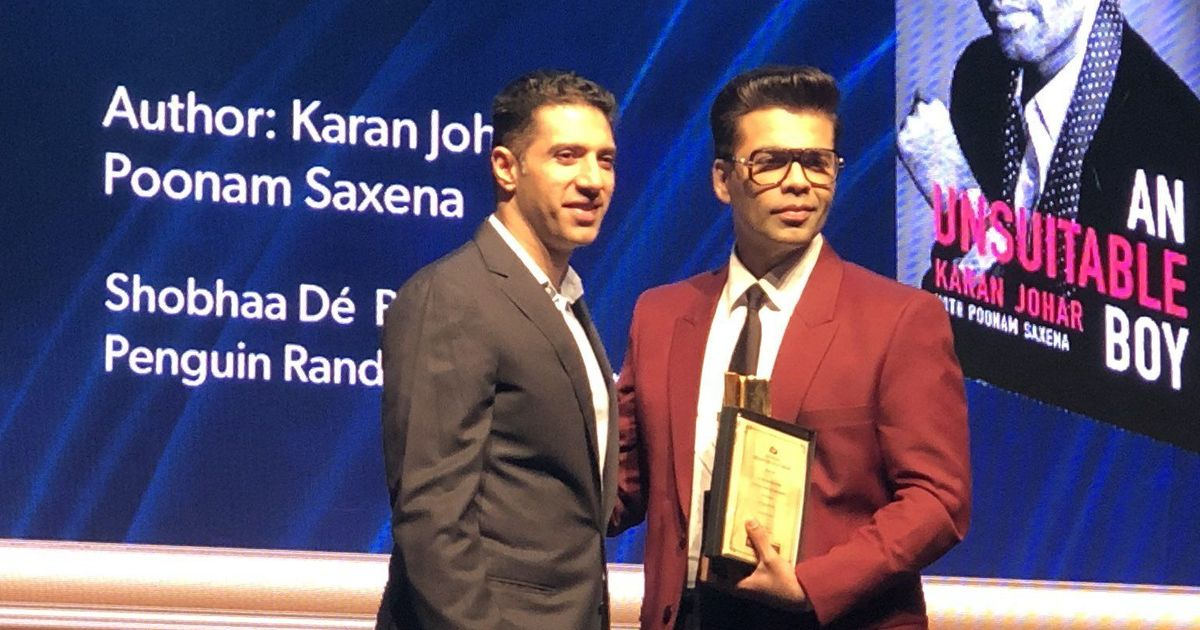 Josy Joseph, Sujit Saraf and Karan Johar among the winners of this year's Crossword Book Awards