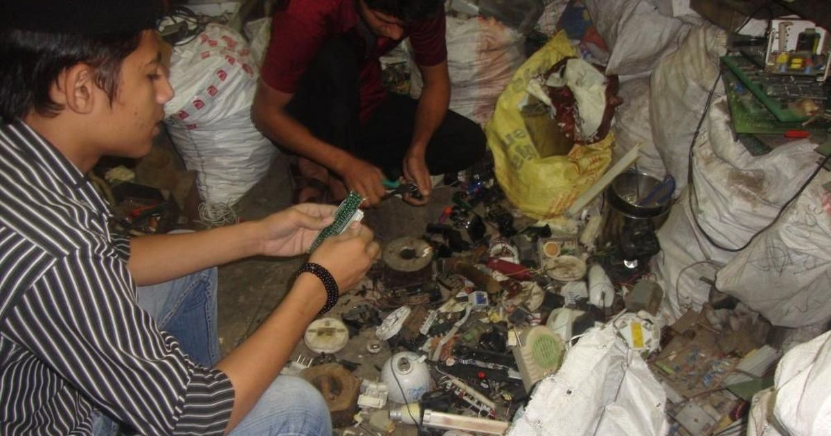 Hazardous e-waste is contaminating Delhi's groundwater and soil