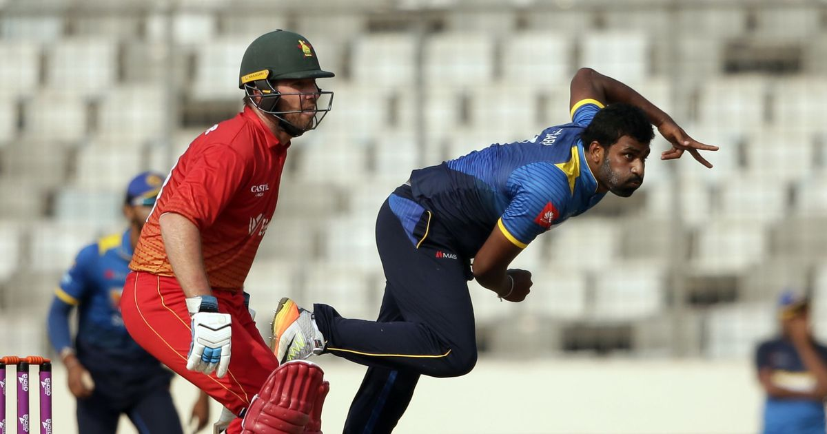 Zimbabwe bat first against Sri Lanka in ODI