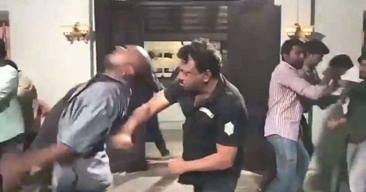 Watch: Ram Gopal Varma's fight with his film's protesters that he wishes he had
