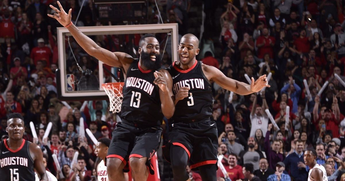 Harden and Paul carry Rockets past Heat