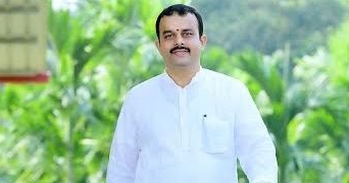 Karkala MLA Sunil Kumar gives religious touch to poll