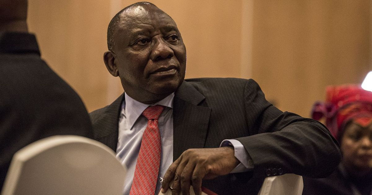 Coronavirus: Don't hoard vaccines, South African president tells rich countries