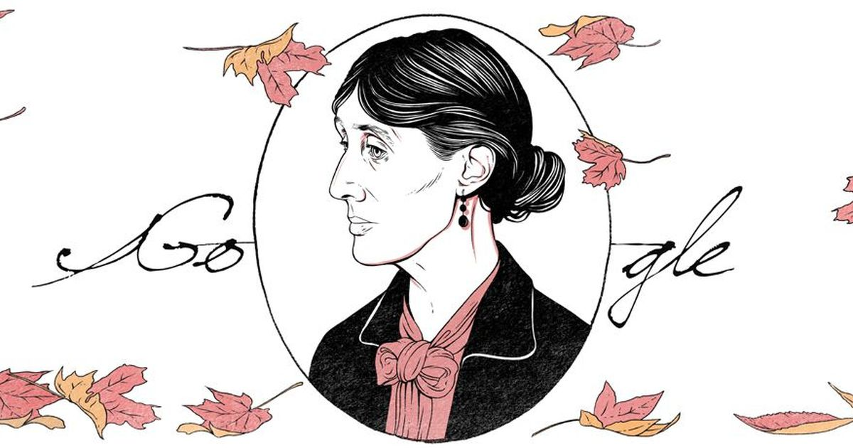 Google Doodle pays tribute to Virginia Woolf on her 136th birth anniversary