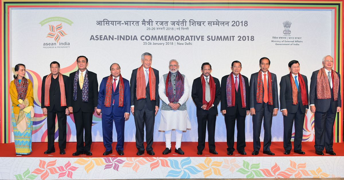 India, ASEAN leaders sign Delhi Declaration to fight terror, human trafficking and cyber crime