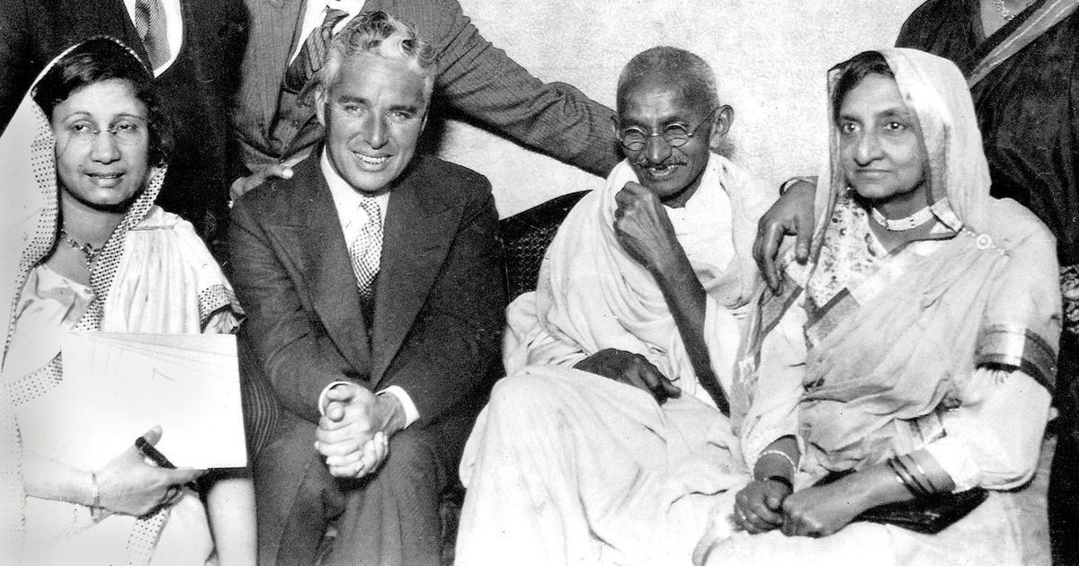 In photos: When Gandhi met Charlie Chaplin and recommended a diet with salads to Netaji Bose