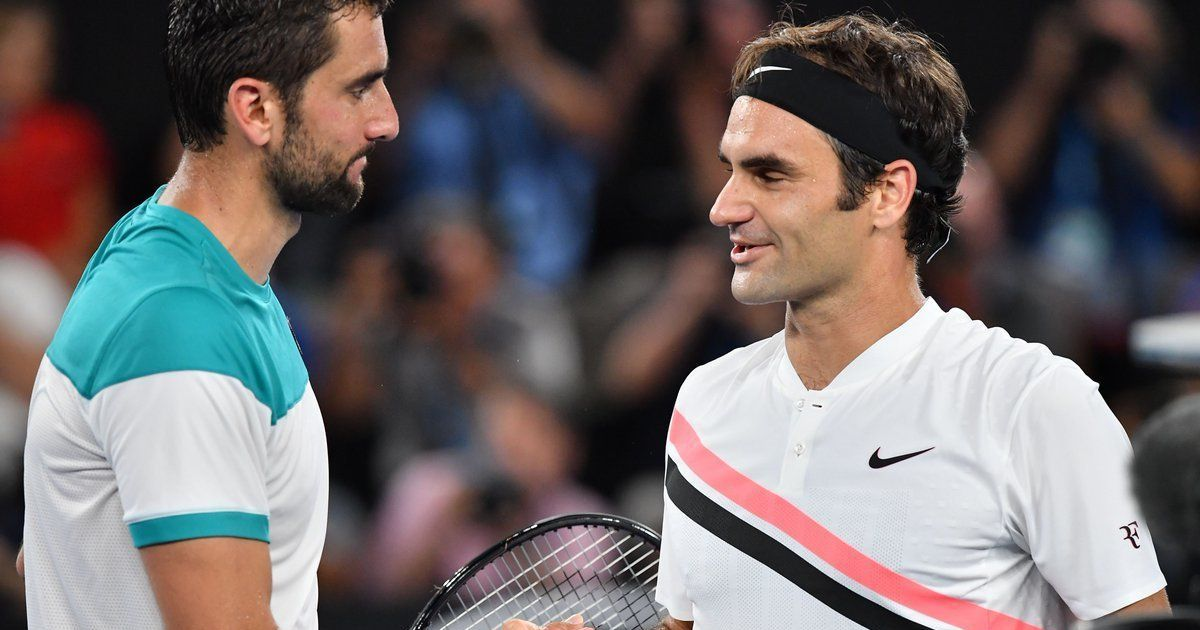 No holidays from tennis for Federer and Cilic
