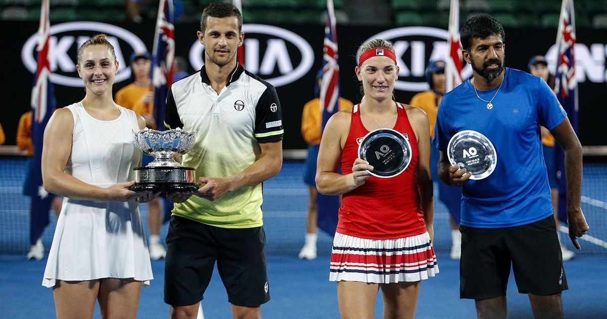 Dabrowski/Pavic Capture Australian Open Mixed Doubles Crown