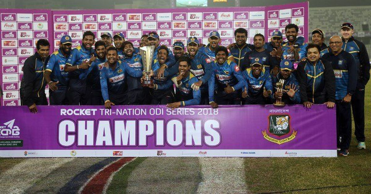 Debutant Shehan Madushanka shines with hat-trick as Sri Lanka win tri-nation title