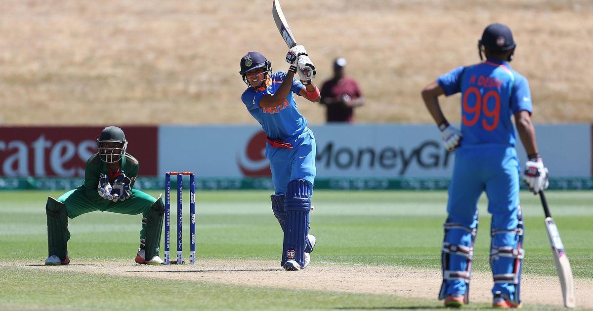 अंडर-19 विश्व कप : पाकिस्तान को 203 रनों से मात देकर भारत लगातार दूसरी बार फाइनल में पहुंचा