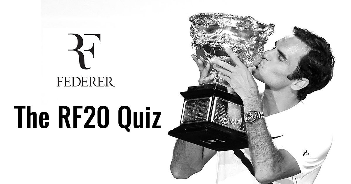 20 questions on RF 20: How much do you remember about Federer's Grand Slam victories?