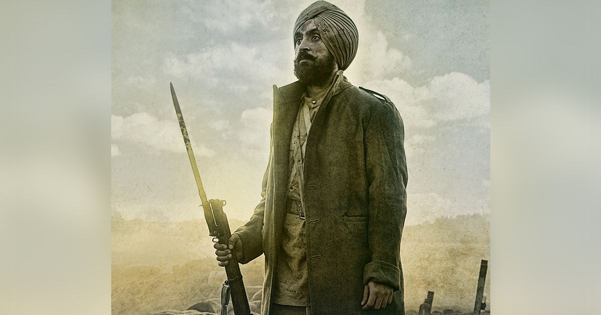Diljit Dosanjh is a rugged World War 1 soldier in the poster for 'Sajjan Singh Rangroot'