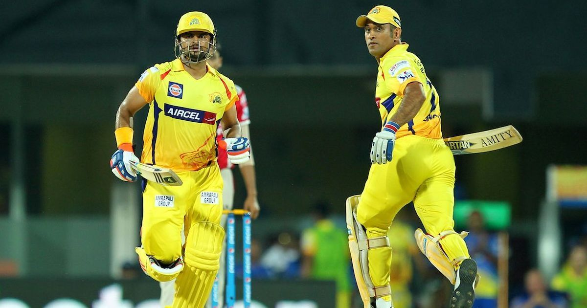 Watch: When MS Dhoni, Suresh Raina smashed CSK bowlers to all corners in IPL 2020 practice match