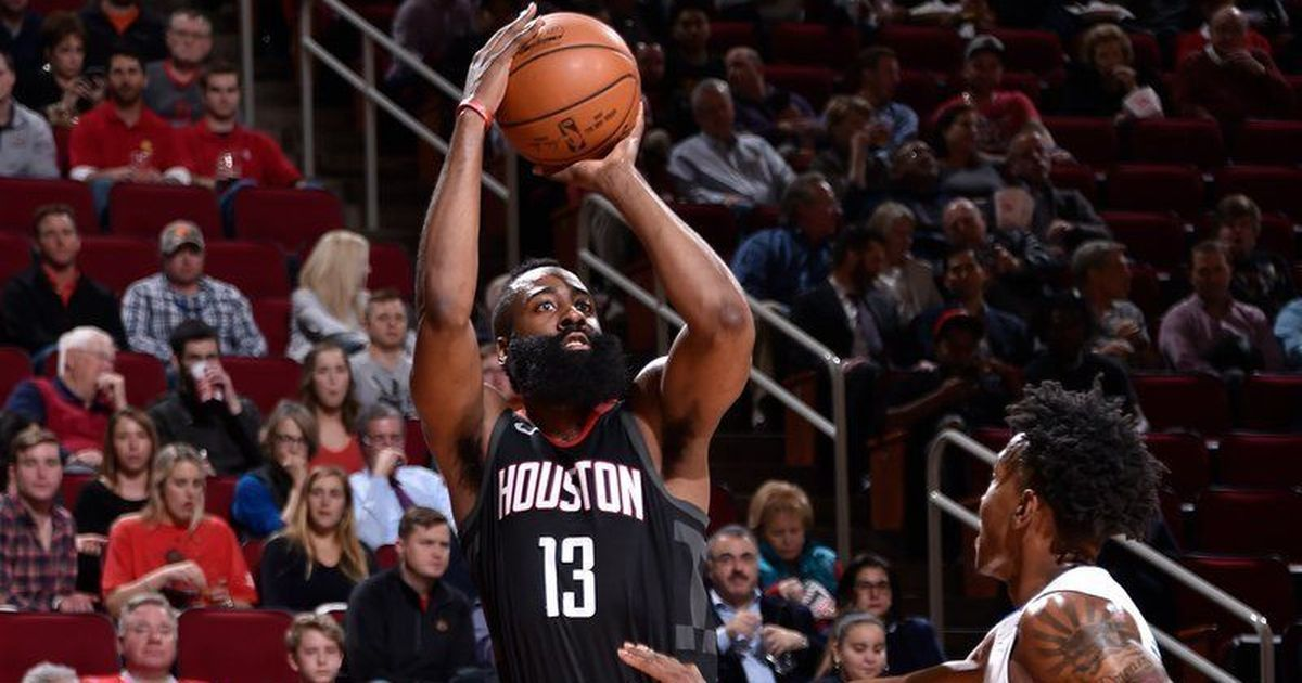 Former Arizona State star James Harden scores 60 in triple-double performance
