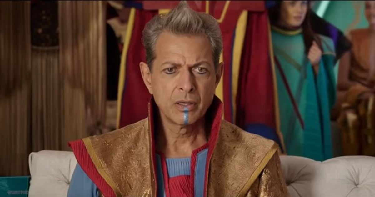 Watch: Jeff Goldblum in a hilarious deleted scene from 'Thor: Ragnarok'