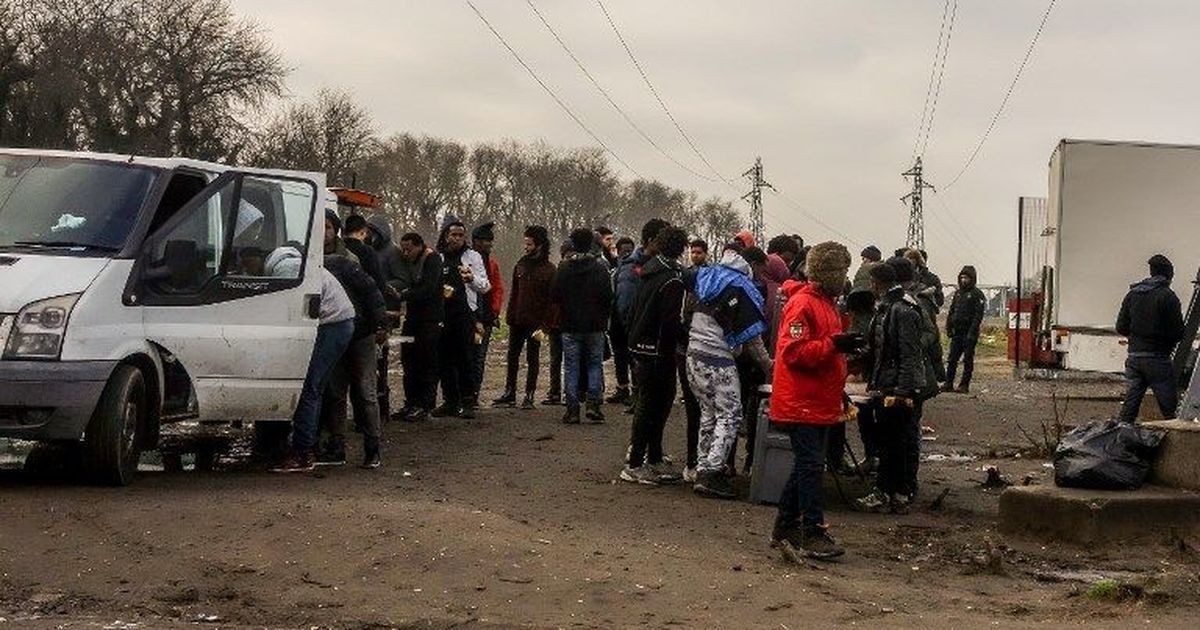 Afghans and Eritreans clash in France's Calais city, four in a critical condition