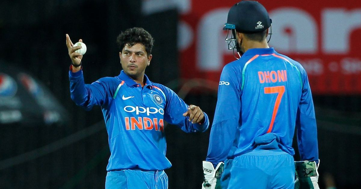 MS Dhoni goes wrong with his tips a lot of times but can't say that to him, jokes Kuldeep Yadav