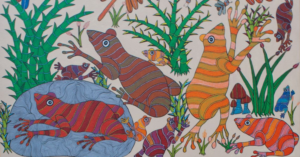 Frogs have an abiding presence in Indian art and mythology. Then why don't we try to conserve them?