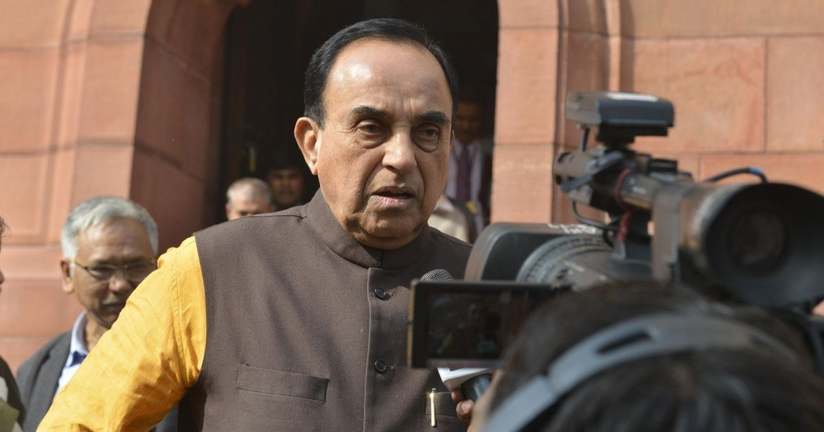 Subramanian Swamy withdraws cow slaughter bill in Rajya Sabha after govt intervenes