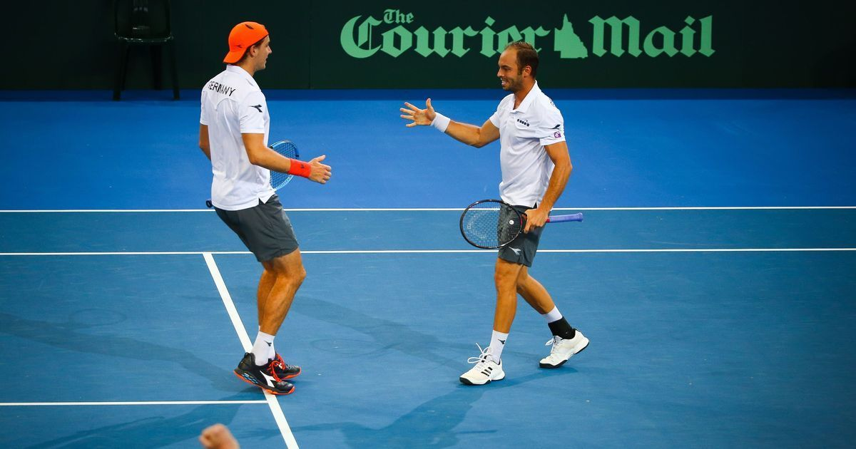 Germany Wins Doubles to Lead Davis Cup