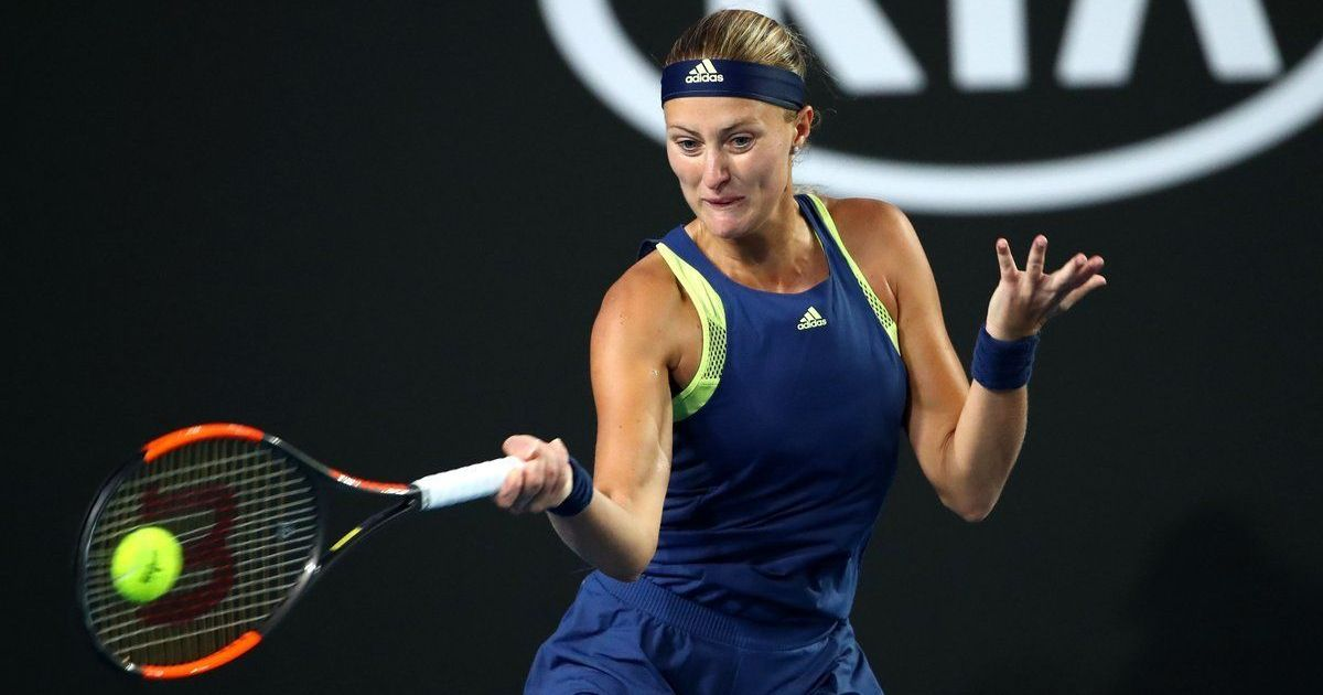 Kvitova completes run to capture St. Petersburg title