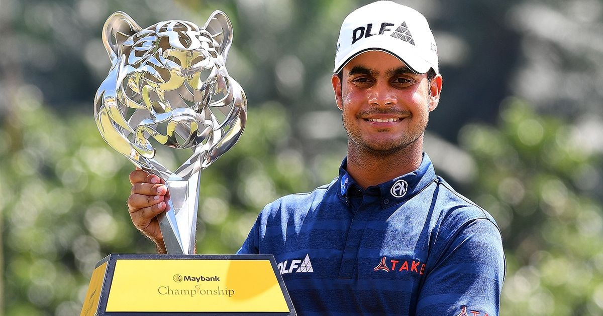 Shubhankar Sharma storms to Maybank Championship title