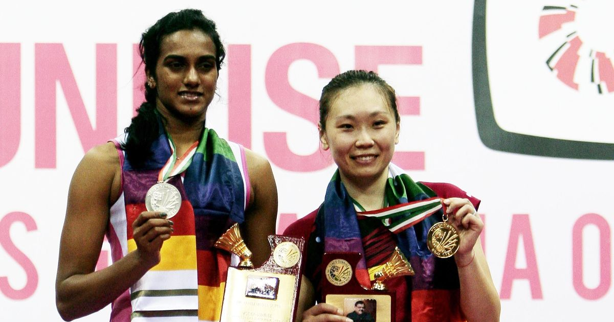 Zhang beats home favourite Sindhu in BWF India Open women's singles final