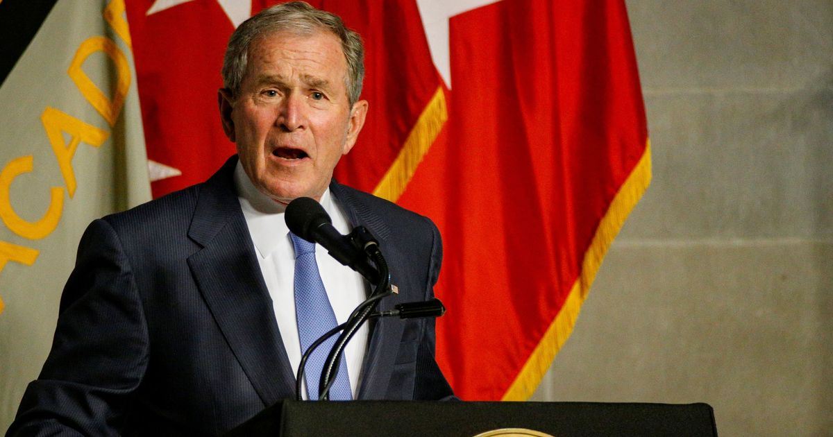 Bush on immigrants: 'We ought to say thank you and welcome them'