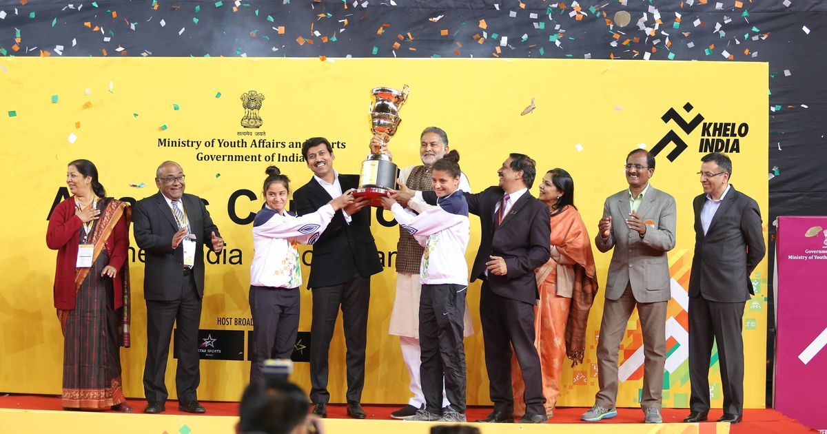 Khelo India- Haryana Crowned Champions With 38 Gold Medals