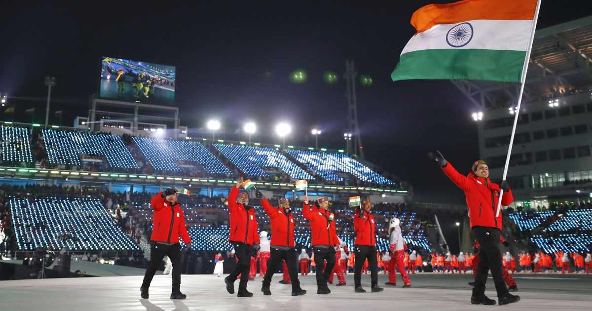 Flag-bearer Shiva Keshavan leads Indian contingent at Winter Olympics