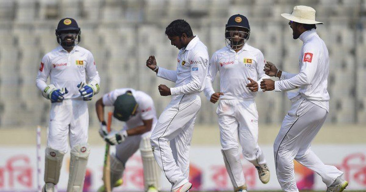 Sri Lanka cruise to Test win in Dhaka