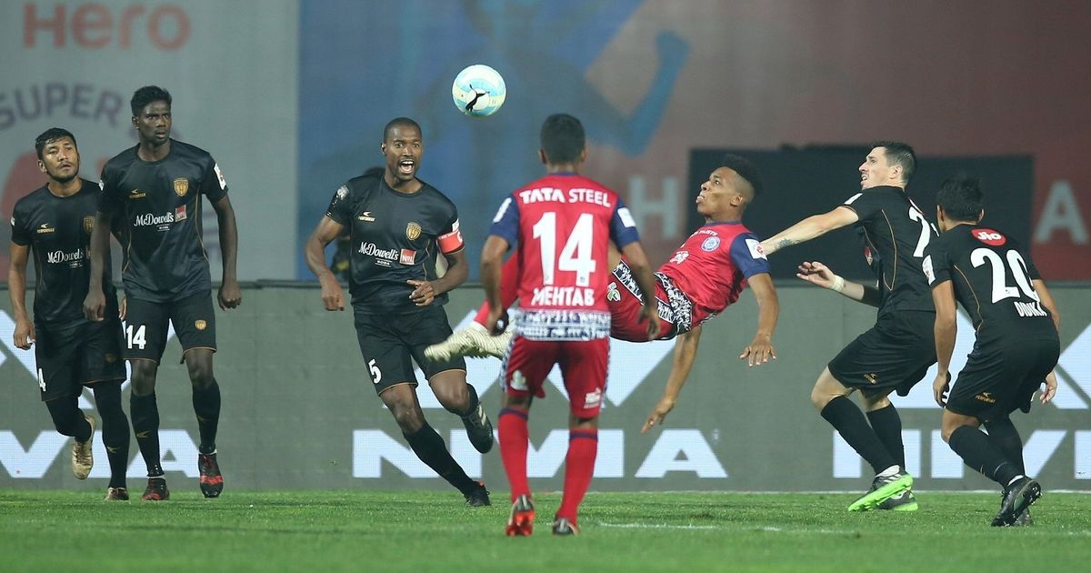ISL: Priori's stunning overhead goal keeps Jamshedpur FC in the top four