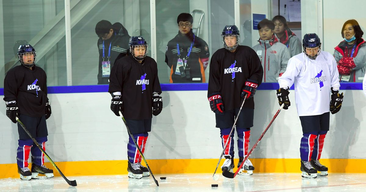 Pyeongchang Winter Olympics: Joint Korean ice hockey women's team thrashed 8-0 by Switzerland