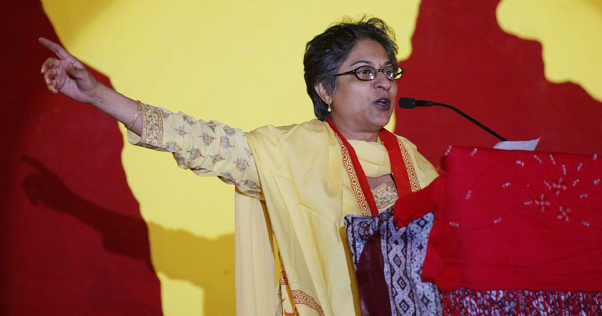 Asma Jahangir 1952 2018 The Human Rights Icon From Pakistan Was A Feisty Street Fighter