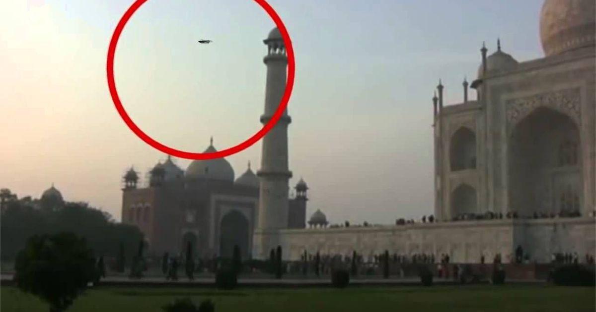 ताजमहल के आसपास ड्रोन उड़ाने पर अब जेल हो सकती है