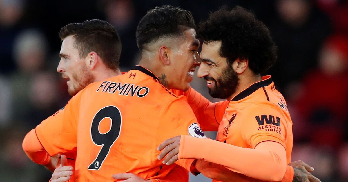 You cannot be third without fantastic players' Klopp all praise for Salah Firmino