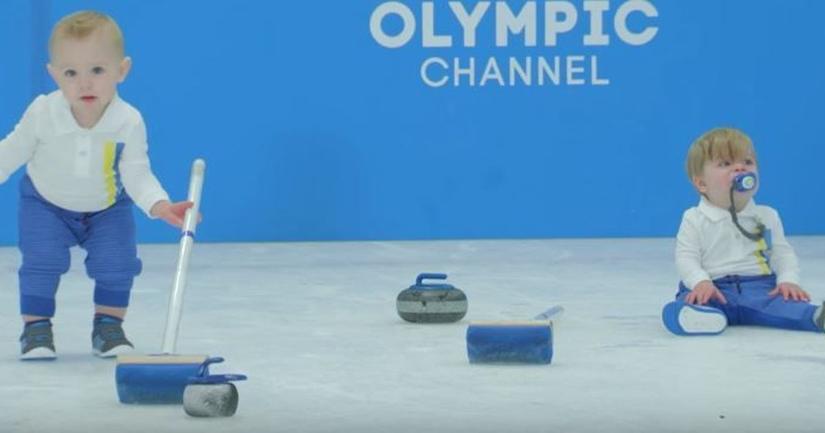 Watch: 'Baby Games' are back, this time with toddlers competing at Winter Olympics