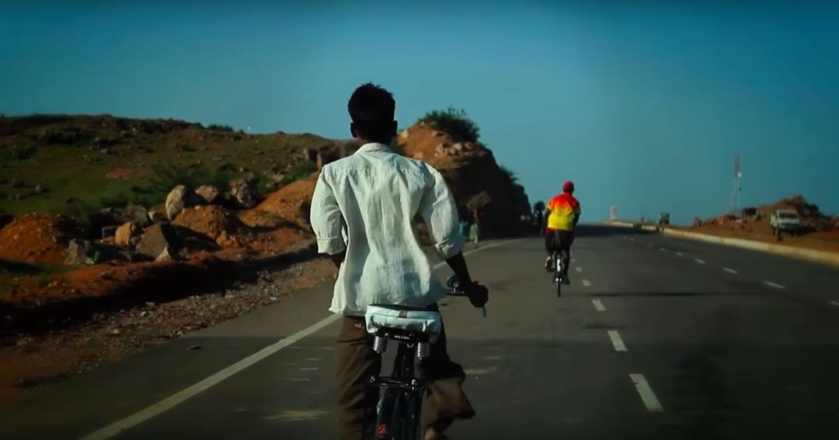 This man cycled for 22 days from Bengaluru to New Delhi (and wrote a book about it)